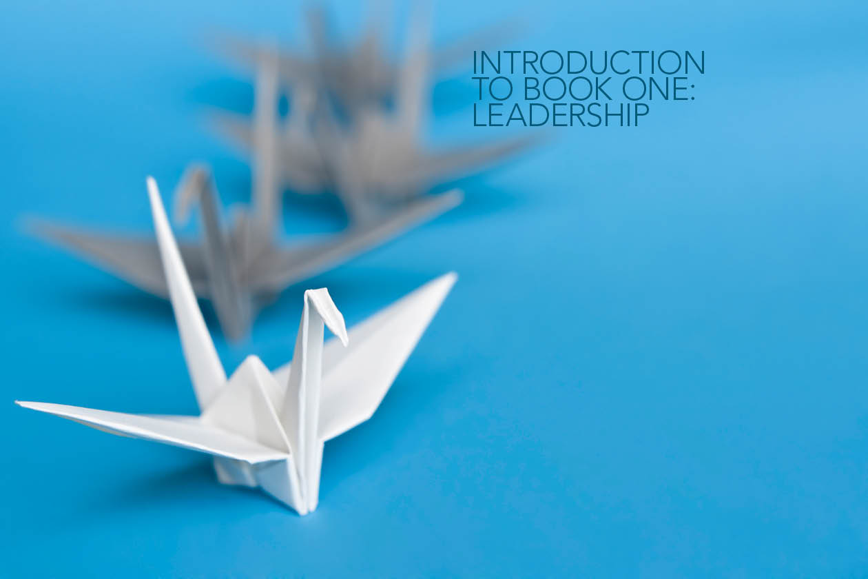 introduction to leadership book